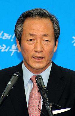 """정몽준, """"`친이계 100인회동' 금지 요청"""""""