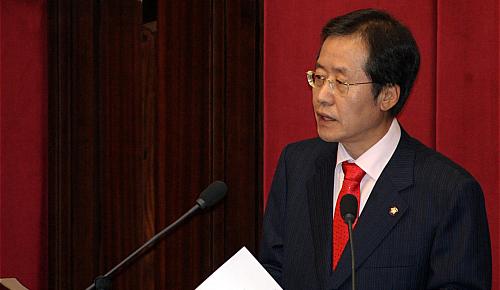 홍준표 `노사정간 대타협 범국민협의체' 구성 제안