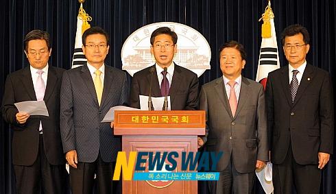 정운찬 `세종시 원안 수정' 발언 파장 확산