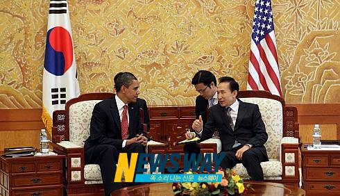 """민주당 """"한미 정상회담, 북핵공조 의미 있어"""""""