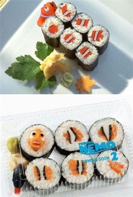 """니모김밥 """"귀여운데 먹기에는…"""""""