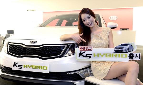 기아차, '2013 K5 하이브리드' 45만원 인하된 가격으로 출시