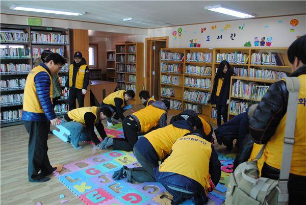 화성산업, 한국SOS어린이마을서 1월 봉사활동