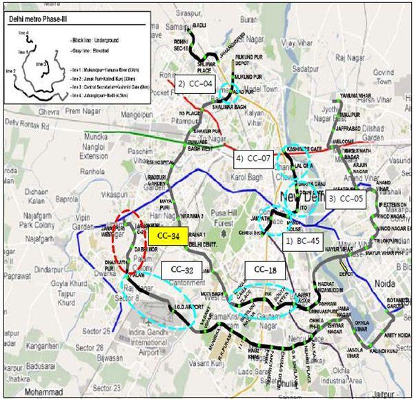 삼성물산, 인도 지하철공사 8100만달러 수주