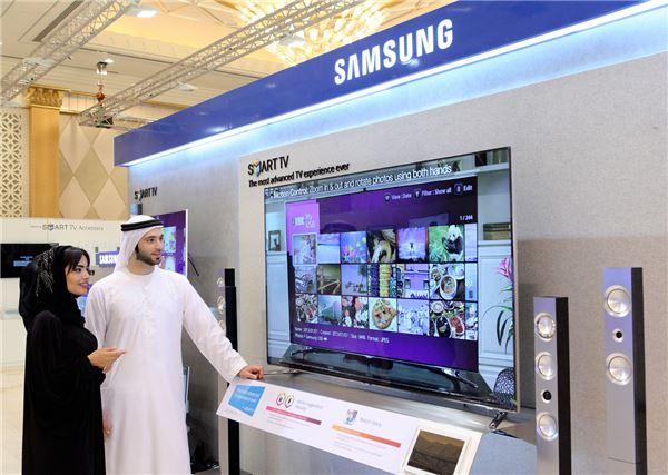 삼성, 아랍어 인식 스마트TV 앞세워 중동 공략 나선다