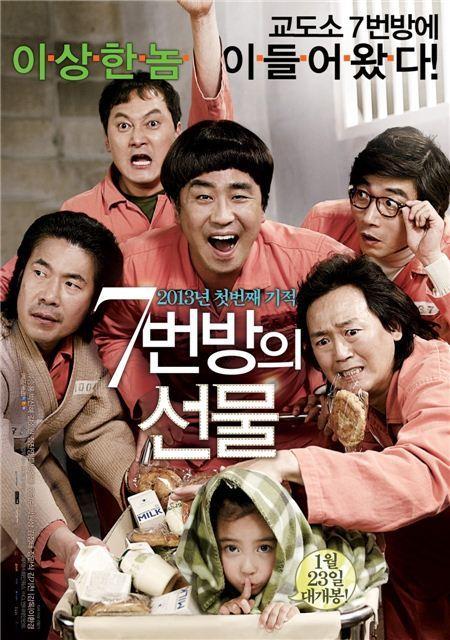 '7번방의 선물' 누적관객 역대 7위 등극