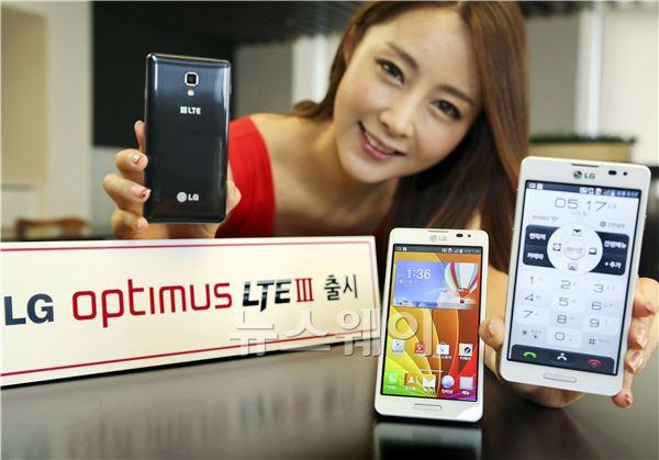 LG전자, SKT통해 보급형 '옵티머스 LTE Ⅲ' 출시