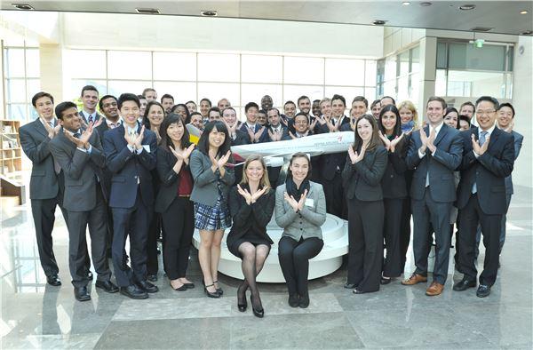 美 예일대 MBA 소속 학생, 아시아나항공 본사 방문