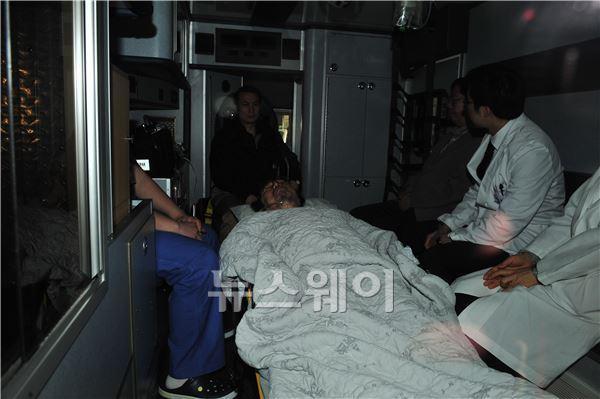 김승연 회장 항소심 결심공판 중 퇴장…재판은 예정대로