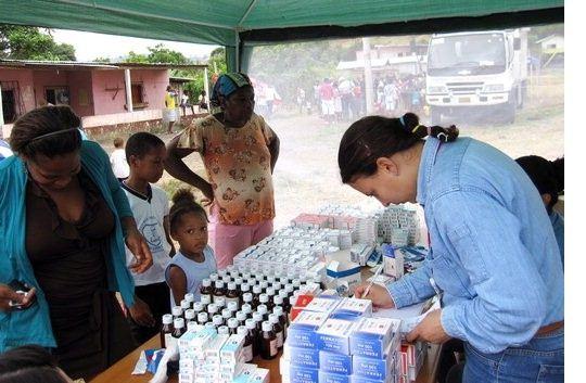 SK건설, 에콰도르서 의료봉사활동 펼쳐