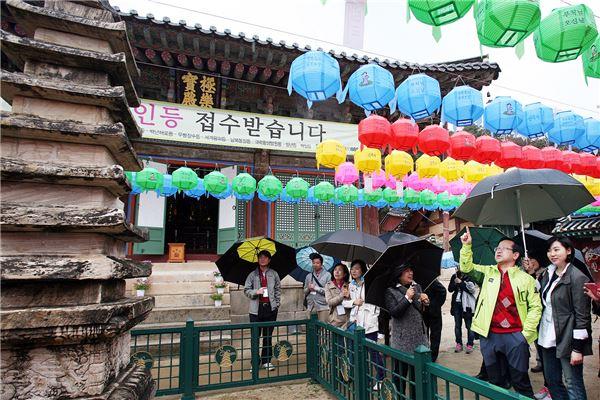 김종준 하나은행장 임직원과 함께 문화유산 탐방
