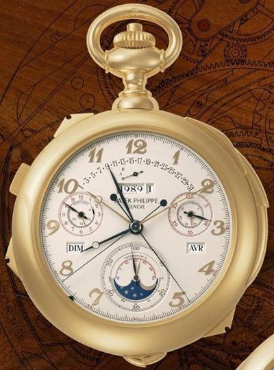 최고 복잡한 시계, 바늘만 12개 가격은 67억원