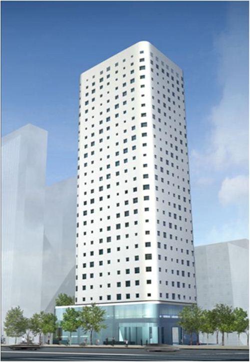장교동 일대 최고 103m 높이 호텔 들어선다