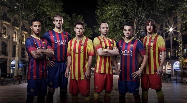 나이키, FC 바르셀로나 새로운 유니폼 공개