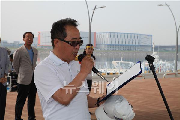 """김종현 뉴스웨이 대표 """"건강을 위해 자전거 탑시다"""""""