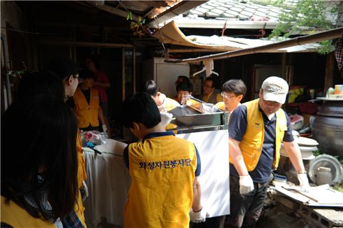 화성산업, 1000가구 집수리 봉사활동 나서