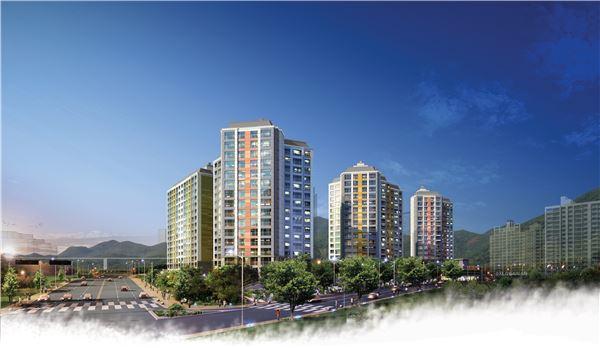 GS건설, 오는 14일 '광교산 자이' 견본주택 개관