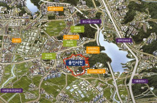 LH, 용인서천 단독주택용지 117필지 공급