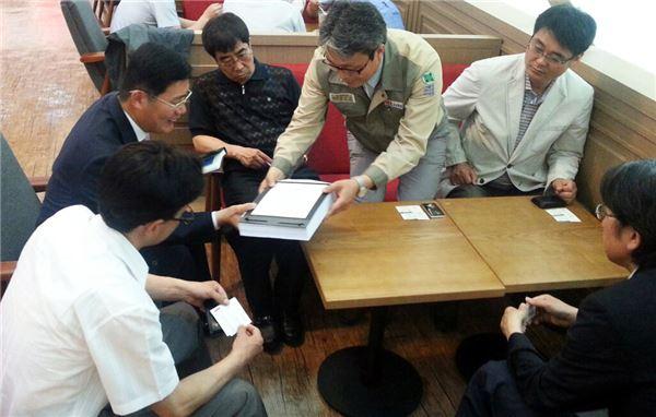 포스텍 협력사, 채권단에 자율협약 조속 체결 탄원