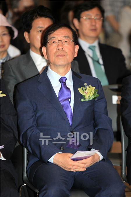 제26주년 '6·10민주항쟁' 기념식에 참석한 박원순 시장