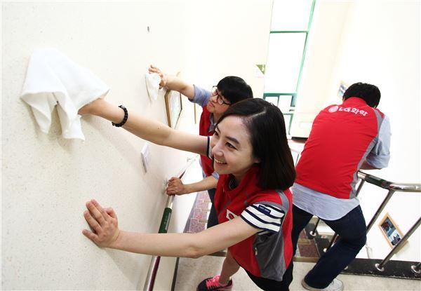 LG화학, '희망 가득한 교실' 봉사활동 펼쳐