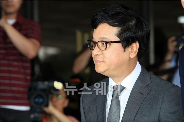 이재현 CJ그룹 회장 검찰 출석