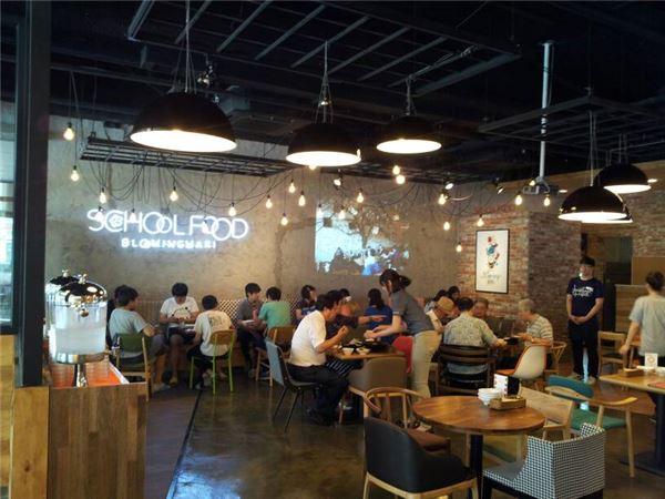 스쿨푸드, 분당 서현점 신규 오픈