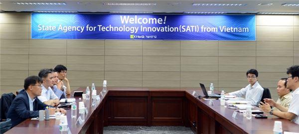 기술보증기금, 베트남에 기술평가시스템 전수