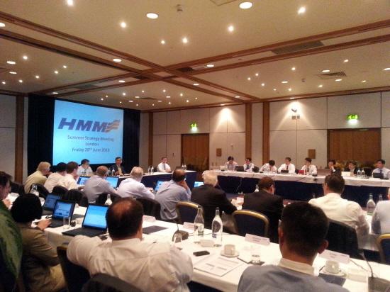 현대상선, 불황 극복 위해 대륙별 영업 전략회의 개최