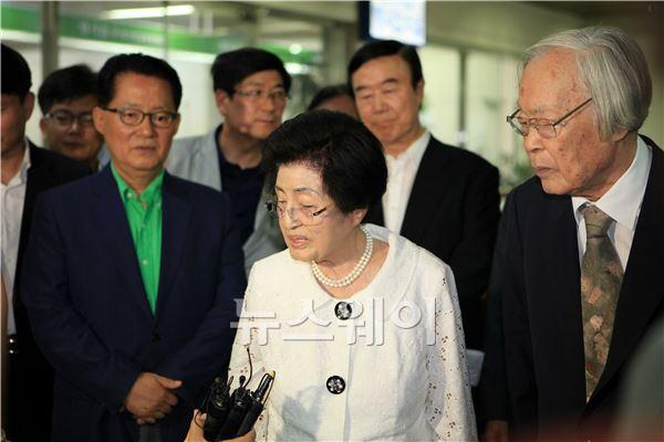 '긴급조치 위반' 김대중 전 대통령 36년만에 무죄