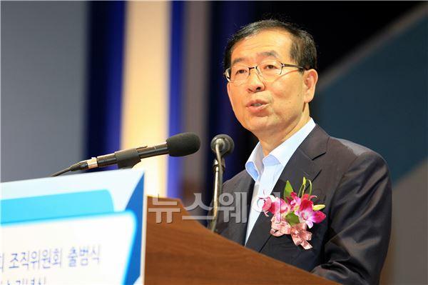 '제22회 도로의 날 기념식'에 참석한 박원순 서울시장