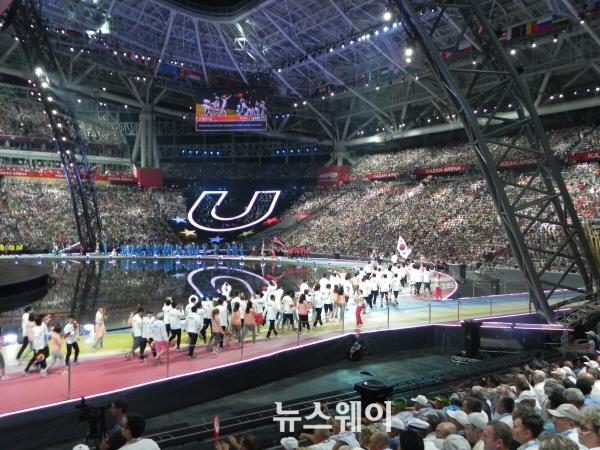 카잔유니버시아드, 2015광주U대회 디딤돌 삼는다
