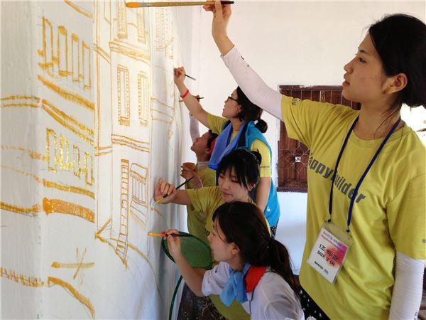 포스코건설, 라오스서 한국문화 알리기 나서