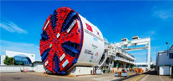 SK건설, 유라시아 해저터널 세계 최대 굴착장비 투입