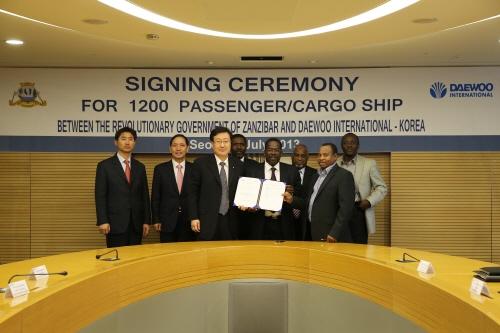 대우인터내셔널·포스코플랜텍, 탄자니아 수송선 공급 수주