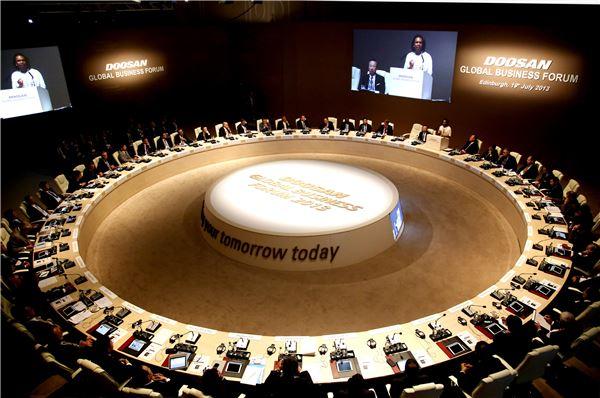 두산, 에든버러에서 '제2회 두산 글로벌 비즈니스 포럼' 개최