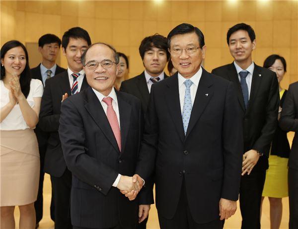 박삼구 금호아시아나 회장, 베트남 국회의장과 환담