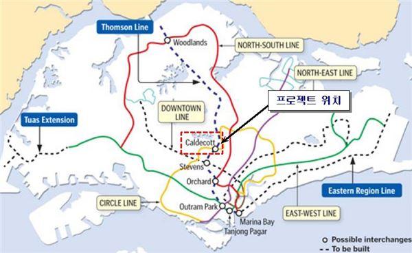 삼성물산, 2억3천만달러 싱가포르 지하철공사 수주