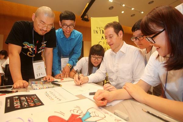 한성자동차, '2013 인텐시브 아트캠프' 성황리 진행