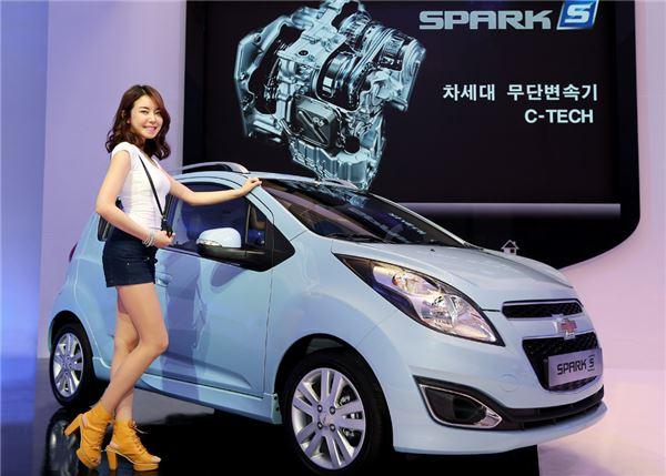 한국GM, 7월 내수 판매량 1만3304대…전년比 10.9% ↑