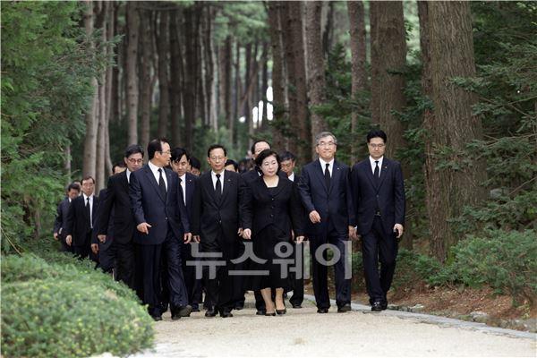 故 정몽헌 전 현대그룹 회장 10주기 추모 행사