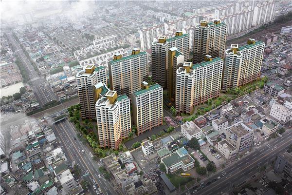 반도건설, 1250억원 규모 대구 신천3동 재건축 수주