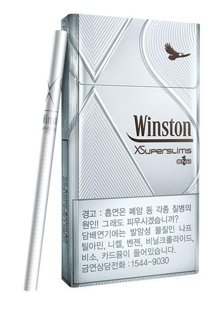 JTI 코리아, 윈스턴 XS 수퍼슬림 1mg 세계 최초 한국 출시