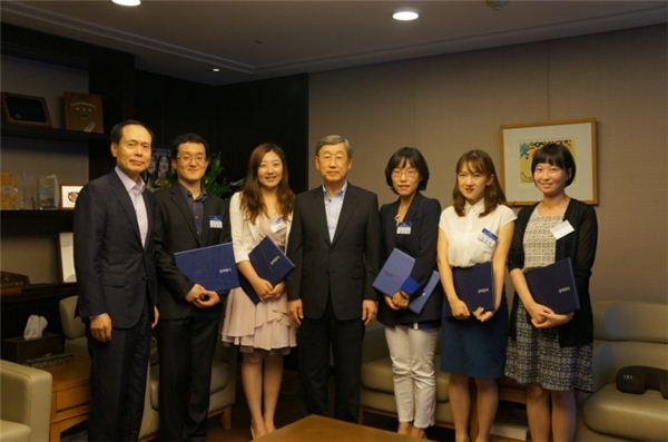 박용현 이사장 '중국학 연구원' 5명 1억원 지원