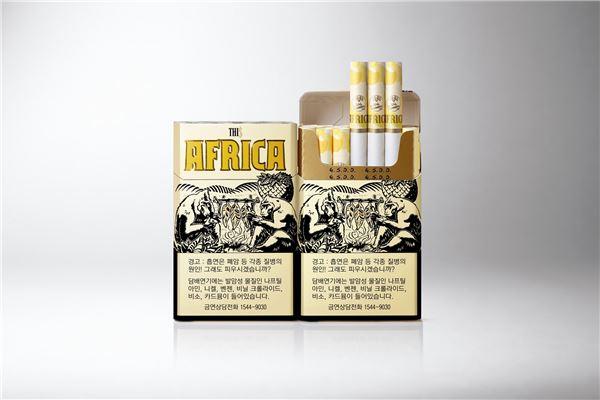 KT&G, 훈연처리로 구수한 담배 '디스 아프리카'출시