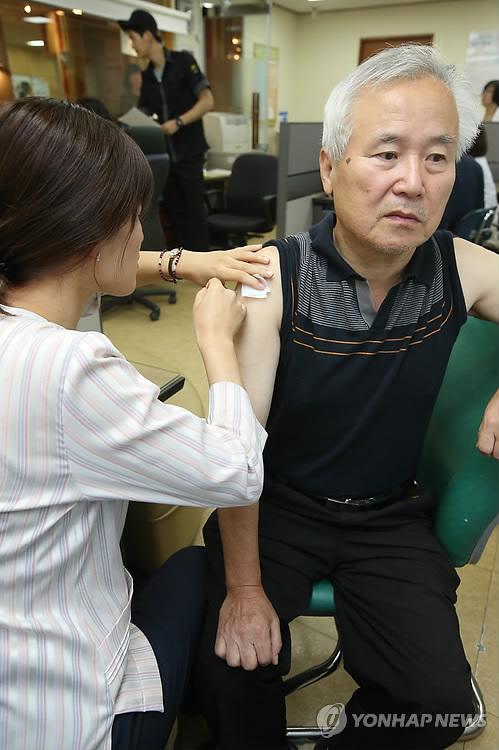 겨울 대비 인플루엔자 예방접종