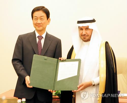 진영 복지부 장관, 사우디와 보건의료 협력