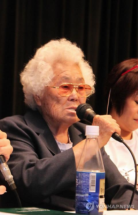 이옥선 할머니, 위안부 피해 증언