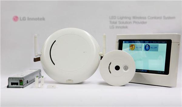 LG이노텍, 획기적 LED조명 무선제어솔루션 출시