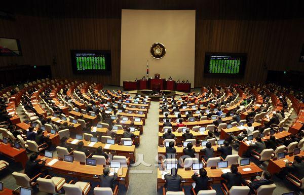 정기국회, 29일 만에 정상화